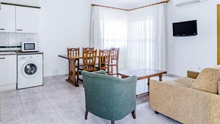 Apartamento 2 dormitorios 5 personas