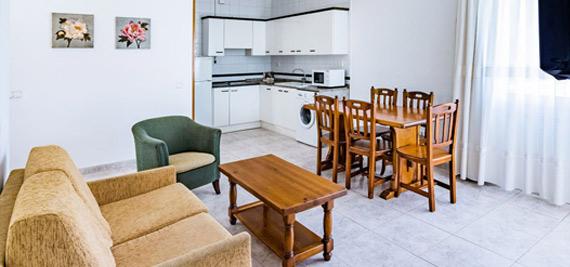 Apartamento 2 dormitorios 6 personas